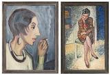 """Agnes Cleve, Ingegerd Torhamn, 1932 et """"Réflexion"""", 1930"""