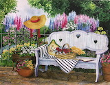 The Garden Bench by Mary Irwin...