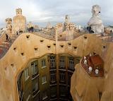 Casa Mila Roof, Barcelona, Catalunya