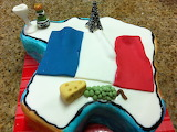 it's for me !-cake/the map of France