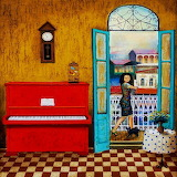 ☺♥ Red piano...