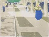 Edouard Vuillard, L' Avenue, 1899