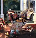 porch swing paradise