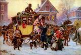 ^ The Christmas Coach ~ Jean Leon Gerome Ferris