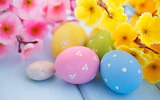 Colours-colorful-Easter-eggs-flowers