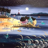 Evening on the beach - Anne Blundell