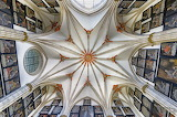 Burgos, Plafond de la Cathédrale, Spain