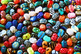 Colorful Kazuri Beads
