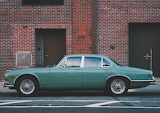 Jaguar Green Car Auto Vehicle