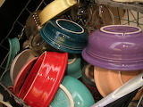 various dinnerware