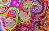 gnarly rainbow ripples, Wolfepaw
