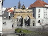 Plzeň, brána pivovaru Prazdroj, cz Pilsen, Tor der Brauerei, 3