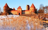 #Trakai Lake Castle Lithuania