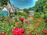 France Houses Rivers Roses Veules-les-Roses 547993 1365x1024
