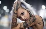 Model-women-tattoo