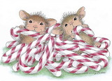 House Mouse candy canes
