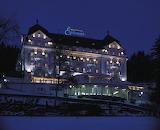 Mariánské Lázně, Esplanade Hotel, night, CZ