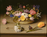 Ambrosius Bosschaert the Elder (Dutch - Flower Still Life - Goog