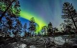 Northern Lights, Santavaara Finland