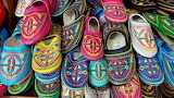Colorful Moroccan shoes