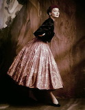 Suzy Parker by John Rawlings. Vogue 1953