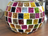 Jarrón con mosaicos 2