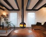 "Home archdaily Home archdaily Agorafocus ""Focus Design Fireplace"
