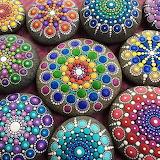150 Pedres amb Mandales - Mandala Rocks