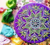 Mandala cake @ Pastelería Pucara