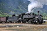 Durango and Silverton Locomotive #480