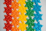 Colorful Geometric Stars by Chinh-le-duc-