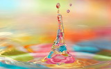3D-Colorful-Water-Drop-Splash-Wallpapers