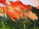 Autumn on Red Mountain by Karla Nolan