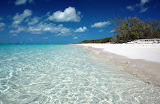 Beautiful beach in the Bahamas