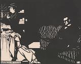 Félix Vallotton - Series Intimités - Apprets de Visite