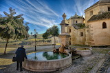 Fountain, Alhama de Granada, Andalucia