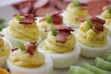 ^ Deviled eggs