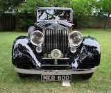 Shiny old Rolls