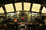De Havilland Comet 4C Cockpit