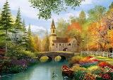 Autumn Church - Dominic Davison