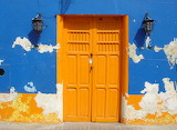 Painted Wall and Door
