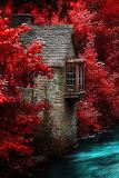 #Stone House in Autumn- Pinterest
