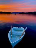 Row Boat in Lake Tahoe