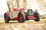 Vintage MG Race Car