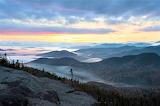 Sunrise Adirondack Mountains New York