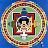 Mickey Mouse Mandala Lubzi