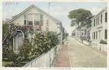 Quince Street, Nantucket, Mass.