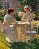 Late Afternoon Tea - Gregory Frank Harris