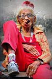 old cuban lady with cigar