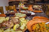 Rhodes island dinner